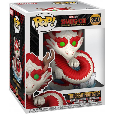 Фигурка Funko Головотряс Shang-Chi and The Legend of The Ten Rings - POP! - The Great Protector 52882 (15 см)