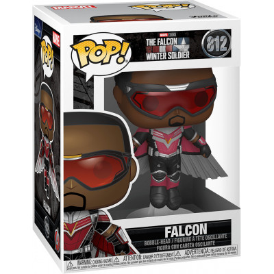 Фигурка Funko Головотряс The Falcon & Winter Soldier - POP! - Falcon (Flying Pose) 52473 (9.5 см)