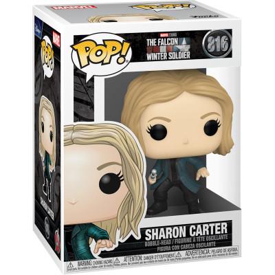 Фигурка Funko Головотряс The Falcon & Winter Soldier - POP! - Sharon Carter 52371 (9.5 см)