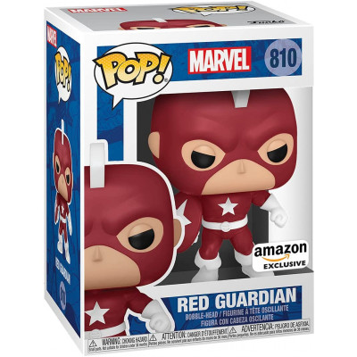 Фигурка Funko Головотряс Marvel: Year of the Shield - POP - Red Guardian (Exc) 55478 (9.5 см)