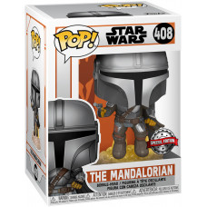 Головотряс Star Wars: The Mandalorian - POP! - The Mandalorian (Flying Mando) (9.5 см)