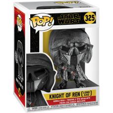 Головотряс Star Wars Episode IX The Rise of Skywalker - POP! - Knight of Ren (Long Axe) (Hematite Chrome) (9.5 см)