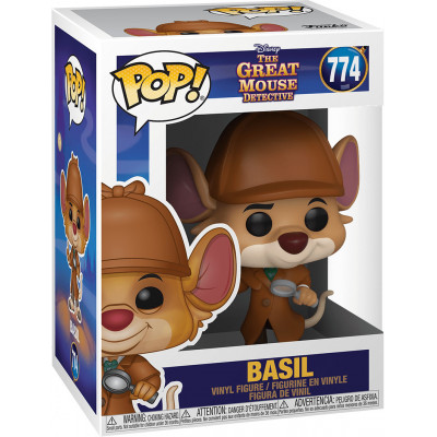 Фигурка Funko The Great Mouse Detectiv - POP! - Basil 47718 (9.5 см)