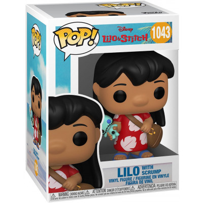 Фигурка Funko Lilo & Stitch - POP! - Lilo with Scrump 55614 (9.5 см)