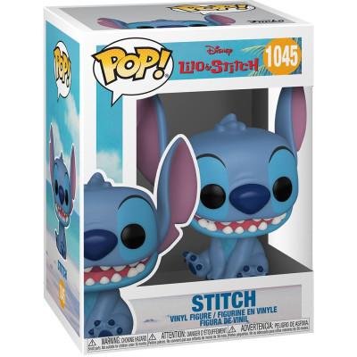 Фигурка Funko Lilo & Stitch - POP! - Stitch (Smiling Seated) 55617 (9.5 см)