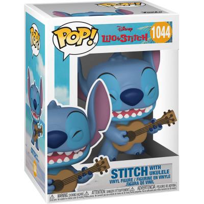 Фигурка Funko Lilo & Stitch - POP! - Stitch with Ukulele 55615 (9.5 см)