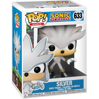 Фигурка Funko Sonic the Hedgehog - POP! Games - Silver 51965 (9.5 см)