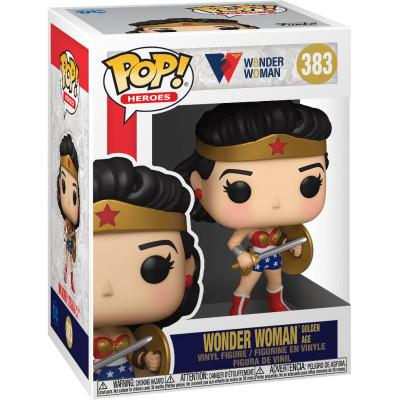 Фигурка Funko Wonder Woman 80th Anniversary - POP! Heroes - Wonder Woman Golden Age 54973 (9.5 см)