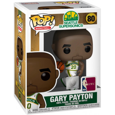 Фигурка Funko NBA: Seattle Supersonics POP! Basketball - Gary Payton (Sonics home) 47912 (9.5 см)