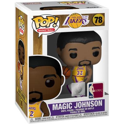 Фигурка Funko NBA: LA Lakers - POP! Basketball - Magic Johnson (Lakers home) 47908 (9.5 см)