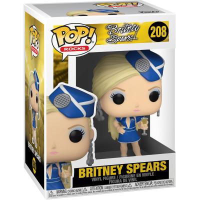 Фигурка Funko Britney Spears - POP! Rocks - Britney Spears (Stewardess) 52033 (9.5 см)