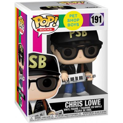 Фигурка Funko Pet Shop Boys - POP! Rocks - Chris Lowe 41208 (9.5 см)