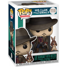 Фигурка His Dark Materials - POP! TV - Lee Scoresbey with Hester (9.5 см)