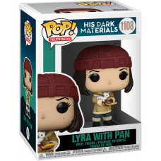 Фигурка His Dark Materials - POP! TV - Lyra with Pan (9.5 см)