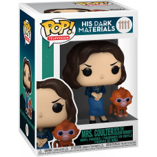 Фигурка His Dark Materials - POP! TV - Mrs Coulter with the Golden Monkey (9.5 см)
