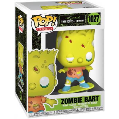 Фигурка Funko The Simpsons: Treehouse of Horror - POP! TV - Zombie Bart 50139 (9.5 см)