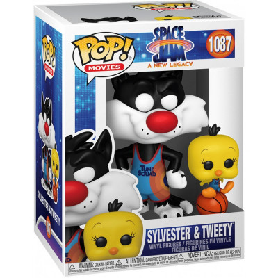 Фигурка Funko Space Jam: A New Legacy - POP! Movies - Sylvester & Tweety 56228 (9.5 см)