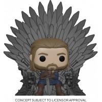 Фигурка Game of Thrones - POP! Deluxe - Ned Stark on Throne (13 см)
