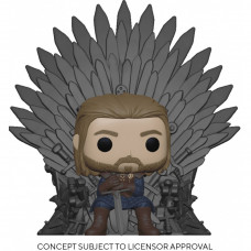 Фигурка Game of Thrones - POP! Deluxe - Ned Stark on Throne (13 см)