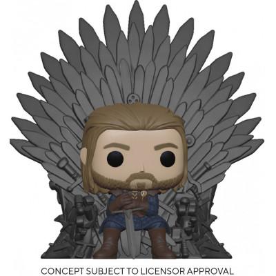 Фигурка Funko Game of Thrones - POP! Deluxe - Ned Stark on Throne 56791 (13 см)
