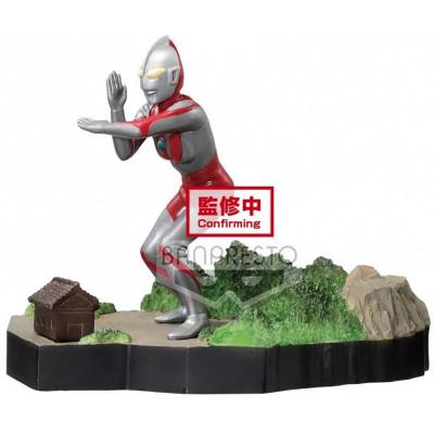 Фигурка Banpresto Ultraman Tiga - Special Effect Prize Figure - Ultraman (The Ultra Star) BP17600P (6 см)