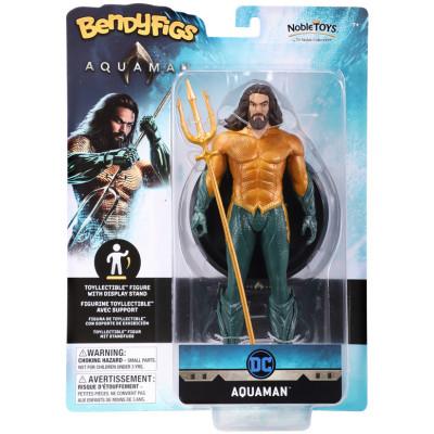 Фигурка Noble Collection Aquaman - Bendyfig - Aquaman NN3252 (19 см)