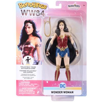 Фигурка Noble Collection Wonder Woman 1984 - Bendyfig - Wonder Woman NN8351 (19 см)