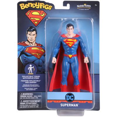 Фигурка Noble Collection DC Comics - Bendyfig - Superman NN4403 (19 см)