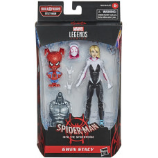 Набор фигурок Spider-Man: Into the Spider-Verse - Legends Series - Gwen Stacy and Spider-Ham (15 см)