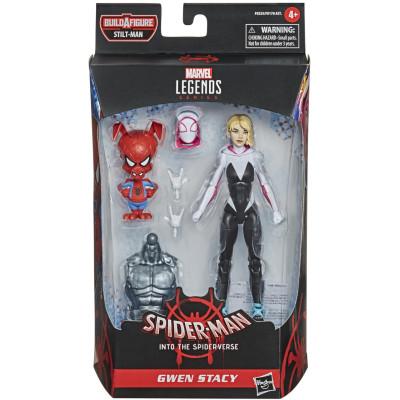 Набор фигурок Hasbro Spider-Man: Into the Spider-Verse - Legends Series - Gwen Stacy and Spider-Ham F0255 (15 см)