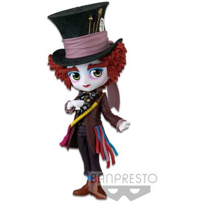 Фигурка Banpresto Alice in Wonderland - Q posket Disney Characters - Mad Hatter (Ver.A) BP17037P (14 см)