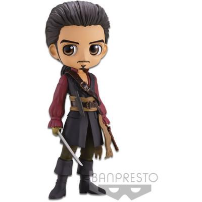 Фигурка Banpresto Pirates of the Caribbean - Q posket Disney Characters - Will Turner (Ver.A) BP16648 (14 см)