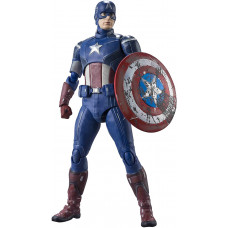 Фигурка Avengers - S.H.Figuarts - Captain America (Avengers Assemble Edition) (15 см)