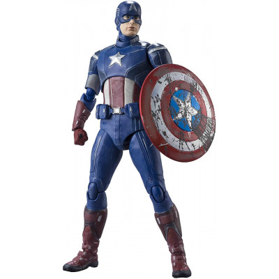 Фигурка Tamashii Nations Avengers - S.H.Figuarts - Captain America (Avengers Assemble Edition) 612847 (15 см)