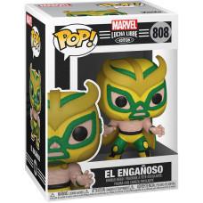 Головотряс Lucha Libre - POP! - El Enganoso (Marvel Edition) (Exc) (9.5 см)