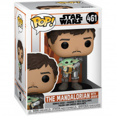 Головотряс Star Wars: The Mandalorian - POP! - The Mandalorian with Grogu (9.5 см)