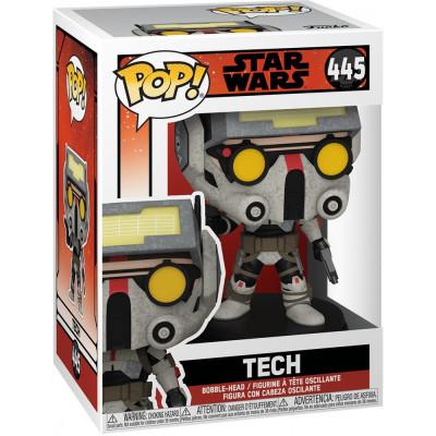 Фигурка Funko Головотряс Star Wars: The Bad Batch - POP! - Tech 56280 (9.5 см)