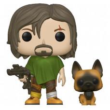 Фигурка Walking Dead - POP! TV - Daryl with Dog (9.5 см)