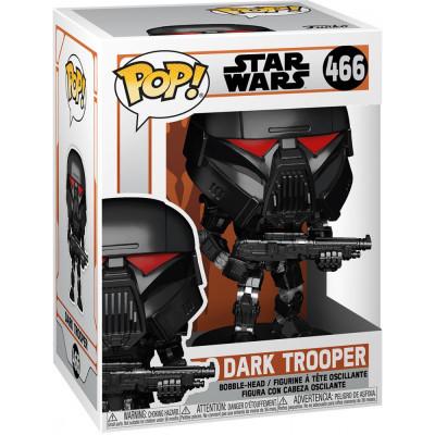 Фигурка Funko Головотряс Star Wars: The Mandalorian - POP! - Dark Trooper (Battle) 58289 (9.5 см)