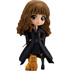 Набор фигурок Harry Potter - Q posket - Hermione Granger with Crookshanks (15 см)