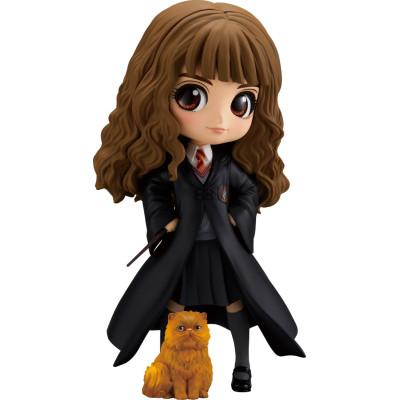 Набор фигурок Banpresto Harry Potter - Q posket - Hermione Granger with Crookshanks BP16651P (15 см)