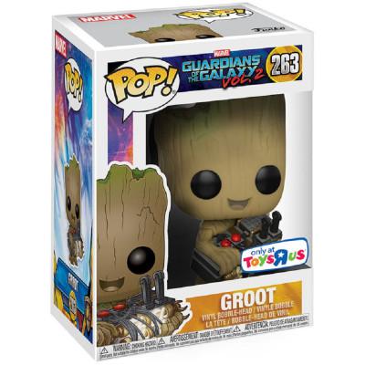 Фигурка Funko Головотряс Guardians of the Galaxy Vol.2 - POP! - Groot (with Bomb) (Exc) 21828 (9.5 см)
