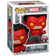 Головотряс Marvel Comics - POP! - Red Hulk (Exc) (9.5 см)
