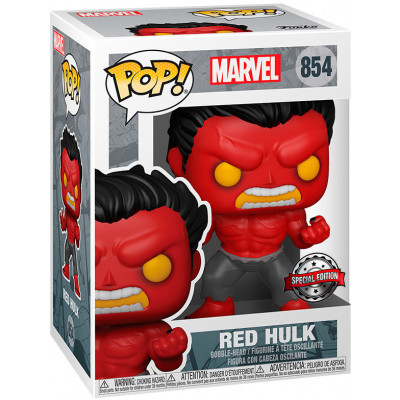 Фигурка Funko Головотряс Marvel - POP! - Red Hulk (Exc) 55084 (9.5 см)