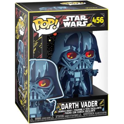 Фигурка Funko Головотряс Star Wars - POP! - Darth Vader (Retro Series) (Exc) 57931 (9.5 см)