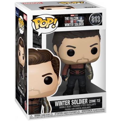Фигурка Funko Головотряс The Falcon & Winter Soldier - POP! - Winter Soldier (Zone 73) 51629 (9.5 см)