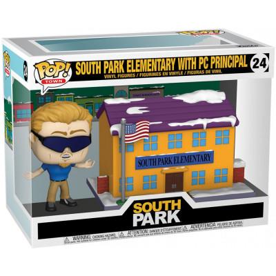 Набор фигурок Funko South Park - POP! Town - South Park Elementary with PC Principal 51632 (9.5 см)