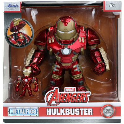 Набор фигурок Jada Toys Avengers - Metalfigs - Hulkbuster (4-16.5 см)