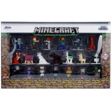 Набор фигурок Minecraft - Nano Metalfigs - Wave 3 (4 см)