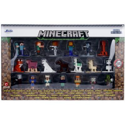 Набор фигурок Jada Toys Minecraft - Nano Metalfigs - Wave 3 (4 см)